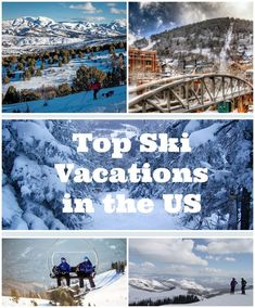 Our favorite ski vacations in the US. including Vermont, Idaho, Utah and Colorado! Travel see more: Ski Vacation, Vacation Destinations, Vacation Spots, Vacations In The Us, Best Vacations, Family Vacations, Ski Et Snowboard, Snowboarding, Places To Travel