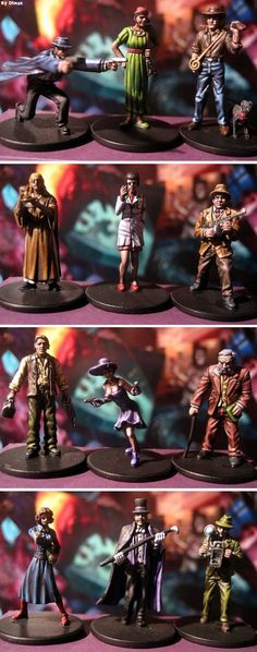 Mansions of madness Paint Games, Mini Paintings, Cthulhu, Miniture Things, Figs, Case, Figure Painting, Tabletop, Board Games