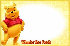 Winnie The Pooh + many more characters for your autograph book.