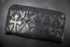 クロムハーツ 財布 コピー キルト/セメタリークロス/ラウンドファスナー財布/レックウォレット