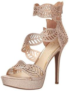 a98c1e65fc Jessica Simpson Women's Bonilynn Heeled Sandal. Trendy ShoesCute  WomanWedgesFootwearStylishSunglassesLinkSexyHeeled Sandals