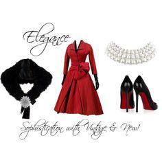 Formal, Elegant!  Love this time period ensemble!