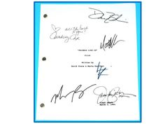 "You are considering a color reprint from the Original TV Pilot of Friends. ""The One Where Monica gets a Roomate"". Written by David Crane & Marta Kauffman. First Draft March Signature Reprints Friends Season 10, Friends Tv Show, Best Sitcoms Ever, David Crane, David Schwimmer, Matt Leblanc, The Originals Tv, Matthew Perry"