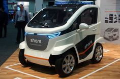 Applus iShare carsharing concept EV loves barcodes