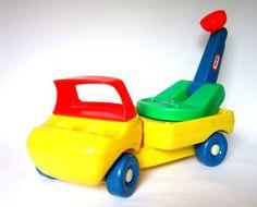 Vintage Little Tikes Boom Truck 1980s Plastic by twinkleberrytoys, $10.00