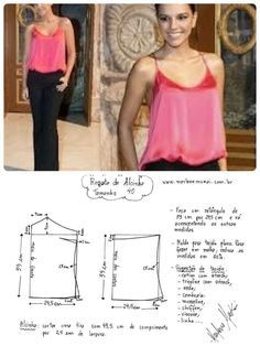 Easy camisole pattern