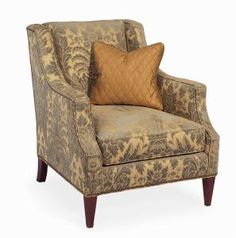 Hickory White - 2521-01 Upholstered Chair: Great Rm