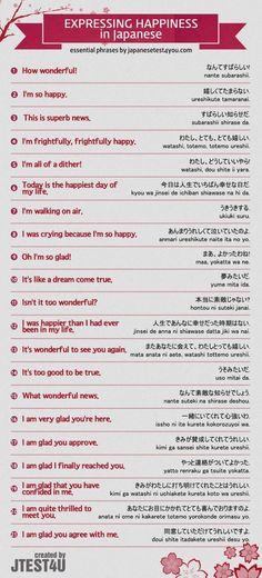 Expressing Happiness in Japanese [Wyrażanie szczęścia po japońsku]