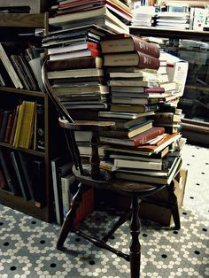 This is a beautiful photo and I love the Twain quote, too. I never tire of books -- in any combination, messy or neatly stacked. Willow Manor is a wonderful blog -- an eclectic combination of incredible poetry, images and recipes.