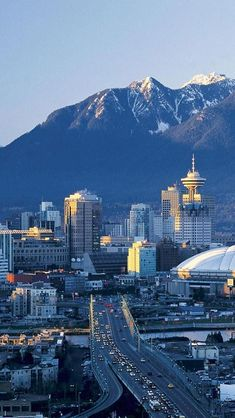 Coast Mountains, Vancouver, British Columbia, Canada, North America, Geography, City.