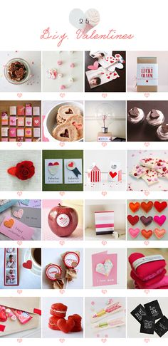 25 Handmade Valentines