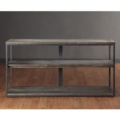 Renate Media Console - Overstock™ Shopping - Great Deals on Entertainment Centers - 52w - could put stools on either side