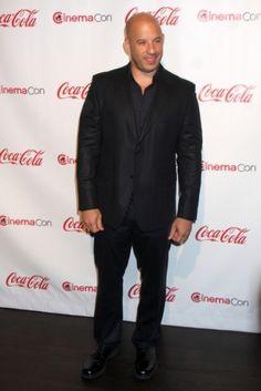 Two of my favorite things...Las Vegas and Vin Diesel! Mmmmmmmmmmm