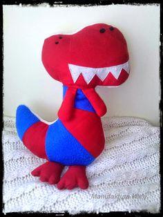 Manufaktura Nany: Dinozaur - próba pierwsza.