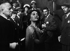 Gloria Swanson famously as Norma Desmond in Sunset Boulevard (1950) with Erich Von Stroheim