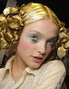 John Galliano 2008 lashes