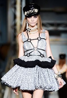Milan Fashion Week 2013  Cara Delevingne, Dsquared2