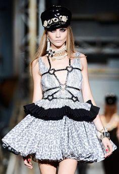 Milan Fashion Week 2013  Cara Delevingne, Dsquared2