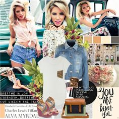 """750. Celebrity Style: Mollie King"" by chocolatepumma ❤ liked on Polyvore"