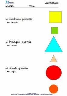 Comprensión lectora de frases cortas asmi 4 Teaching Spanish, Kindergarten, Diagram, Chart, Reading, Reading Comprehension, Writing, Speech And Language, Math Word Problems