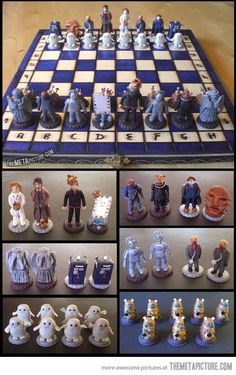 Doctor Who chess set…