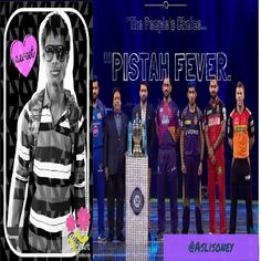 """Here's my latest video! VIVO IPL 2017...""""PISTAH FEVER..IPL 10 Promo Song  with """"The people's choice...  https://youtube.com/watch?v=woGKFtdozyk  #youtube"""