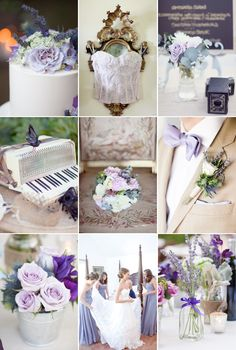 Summer wedding colors shades of purple http://nashville.wedding101.net/