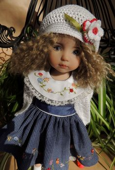"""CHIDITTA set for 13"""" Little Darling Effner pal to Miki Wiggs BJD Bethany Kish"""