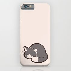 Buy Sleepy Kitty by Kitten Rain as a high quality iPhone & iPod Case. Worldwide shipping available at Society6.com. Just one of millions of products available.