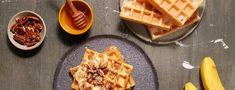 Protein Waffeln süß Stevia, Gym Food, Calories, Fodmap, Bon Appetit, Waffles, Healthy Eating, Diet, Breakfast