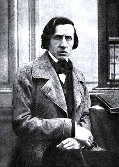 The only known photograph of Frédéric Chopin from 1849. He died the same year. I went to his home and museum outside of Warsaw, Poland. Amazing.