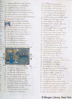 Roman de la Rose, MS G.32 fol. 13r - Images from Medieval and Renaissance Manuscripts - The Morgan Library & Museum