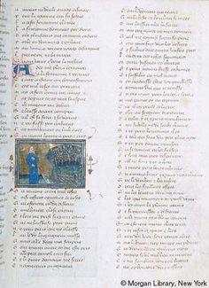 Roman de la Rose, MS G.32 fol. 13r - Images from Medieval and Renaissance Manuscripts - The Morgan Library & Museum
