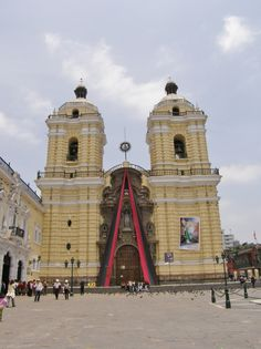 Lima, Peru - one of the most beautiful buildings I ever saw.