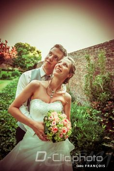 Photo rétro de mariage