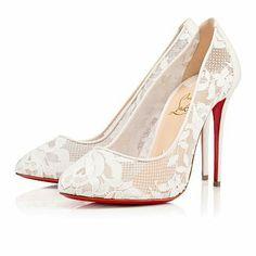 Wedding shoes lou boutin