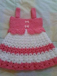 Captivating Crochet a Bodycon Dress Top Ideas. Dazzling Crochet a Bodycon Dress Top Ideas. Crochet Baby Dress Pattern, Baby Dress Patterns, Baby Girl Crochet, Crochet Baby Clothes, Crochet For Kids, Crochet Patterns, Crochet Stitches, Diy Crafts Crochet, Crochet Projects
