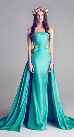 Designer Crush - Hamda Al Fahim Couture Dresses - Munaluchi Bridal Magazine Evening Dresses, Prom Dresses, Formal Dresses, Vintage Evening Gowns, Bridesmaid Dress, Glamour, Mode Costume, Beautiful Gowns, Gorgeous Dress