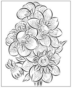 Nicole's Free Coloring Pages: March 2020 Fruit Coloring Pages, Horse Coloring Pages, Flower Coloring Pages, Mandala Coloring Pages, Coloring Books, Tulip Colors, Winter Princess, Color By Numbers, Santa Letter