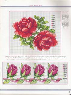 View album on Yandex. Cross Stitch Borders, Cross Stitch Rose, Cross Stitch Flowers, Cross Stitch Charts, Cross Stitching, Cross Stitch Embroidery, Hand Embroidery, Cross Stitch Patterns, Coming Up Roses