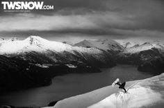 Wallpaper Wednesday: Black and White | Backcountry, Photos, Travel || TransWorld SNOWboarding