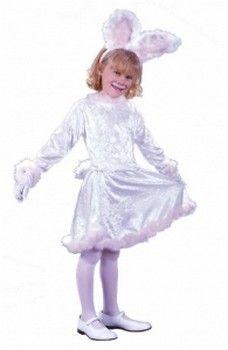 Girls Rabbit & Bunny Costumes: Velvet Bunny Costume (more details at Halloween-Kids-Costumes.com) #Easter #Halloween #costumes
