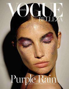 "runwayandbeauty: "" Lily Aldridge by Ezra Petronio for Vogue Spain Beauty (Cover) January 2016. """