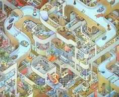Rooms Project by Scott Teplin