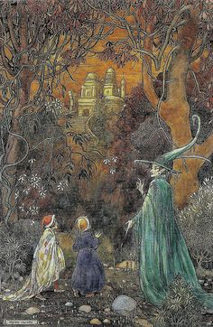 "Helen Jacobs (1888-1970), ""The enchanted wood"" by sofi01, via Flickr"