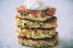 These easy, healthy Gluten-Free Vegan Zucchini Fritters are made with chickpea flour for added nutrition and depth. Packed with the perfect blend of spices, these delightful vegan fritters are beyond DELICIOUS, too! | Gluten Free Zucchini Fritters | Chickpea Flour Fritters | #veganzucchinifritters #glutenfreezucchinifritters Vegetable Dishes, Vegetable Recipes, Gluten Free Zucchini Fritters, Dairy Free Recipes, Vegan Recipes, Fresh Salsa Recipe, Zucchini Frittata, Garbanzo Bean Flour, Baked Mushrooms