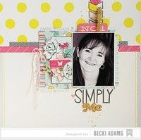 A Project by Becki Adams from our Scrapbooking Gallery originally submitted 09/07/13 at 11:41 AM