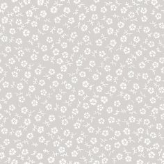 The Charming Taupe Tossed fabric print!