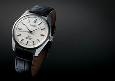 Introducing The Grand Seiko 44GS Limited Edition: Another 1960s Classic Gets Re-made, In A Great Way (Live Pics, Pricing, Details) — HODINKEE - $6000 [A REAAAALY beautiful piece! Happy 100th to Seiko!]