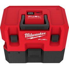 Milwaukee 0960-20 M12 FUEL 1.6 Gallon Wet/Dry Vacuum Milwaukee Fuel, Cordless Power Tools, Hanging Plates, Shop Organization, Hepa Filter, Tool Storage, Wet And Dry, Vans